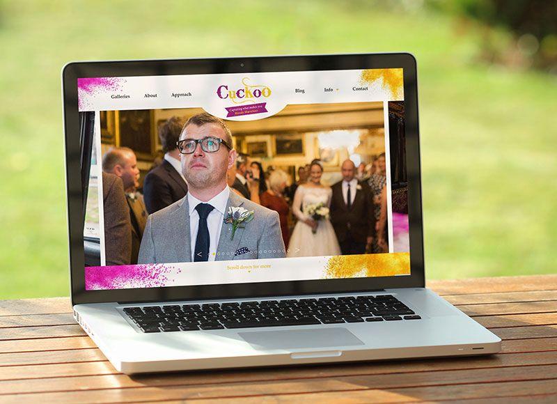 Cuckoo Wedding Photography WordPress Website