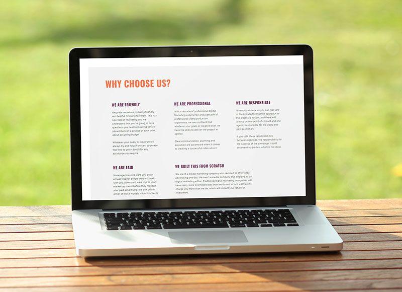 Simply Ads Website Design