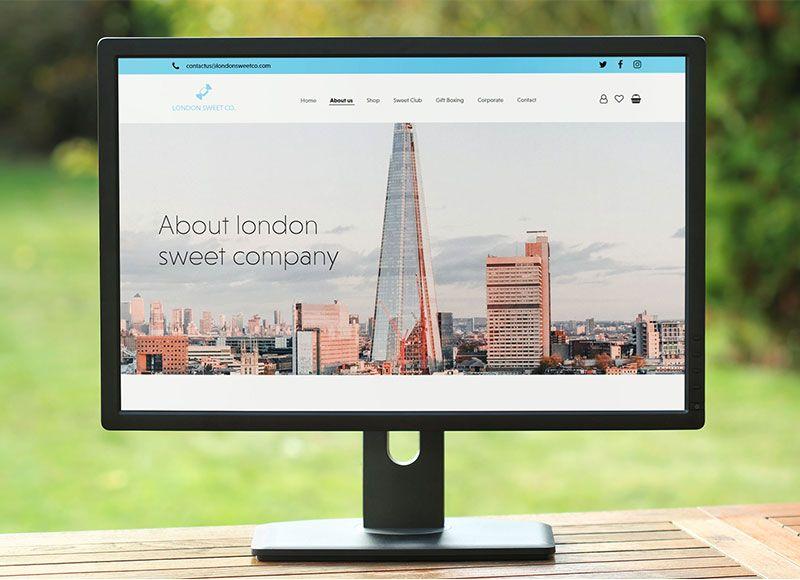 London Sweet Co. WordPress