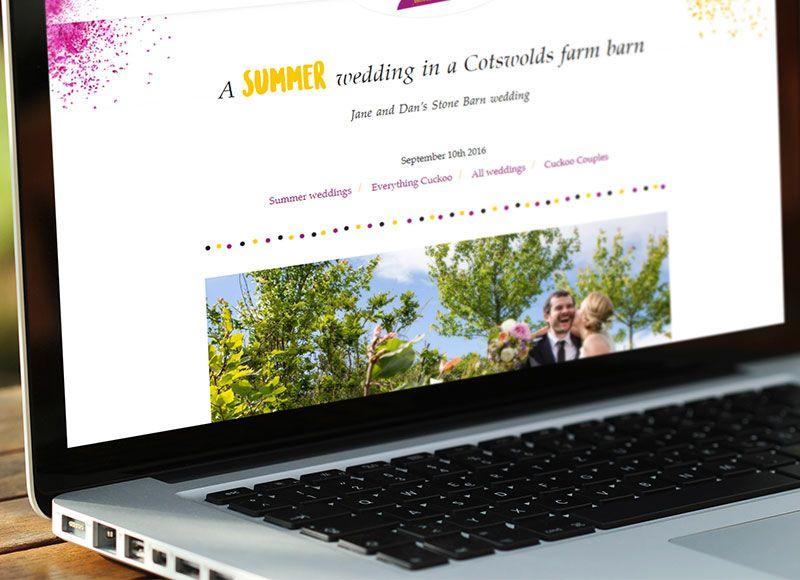 Cuckoo Wedding Photography Website Development