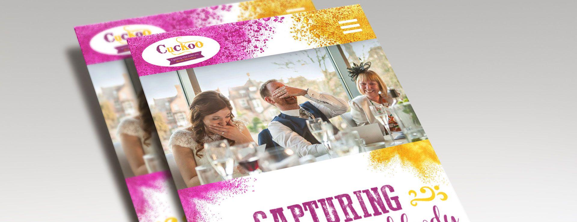 Cuckoo Wedding Photography Responsive Website Design