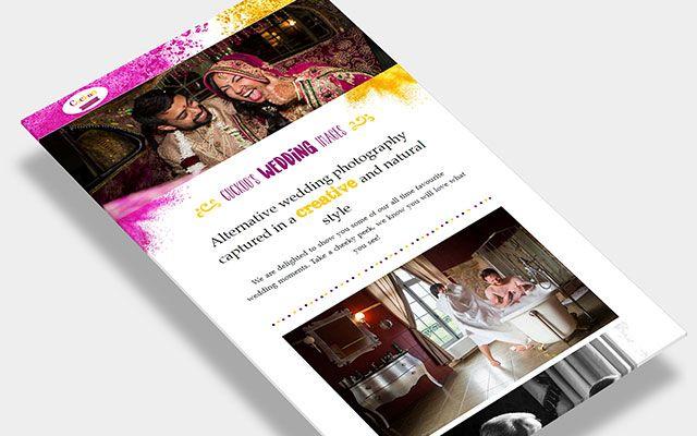 Cuckoo Wedding Photography Website
