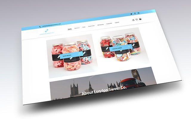 London Sweet Co. WordPress Website