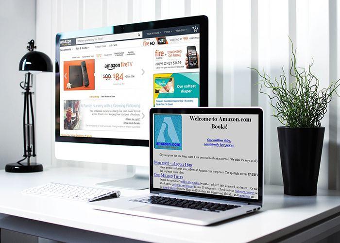Website Design - 20 year challenge