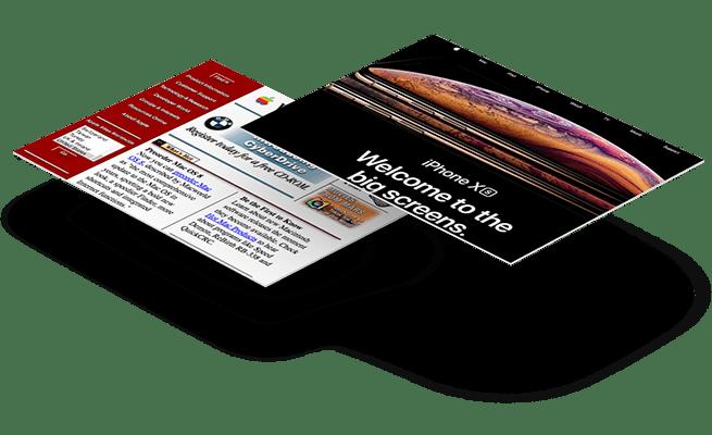 Website Design - 20 year challenge - Apple