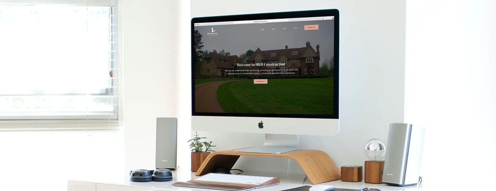 HH Construction - Web Design Case Study