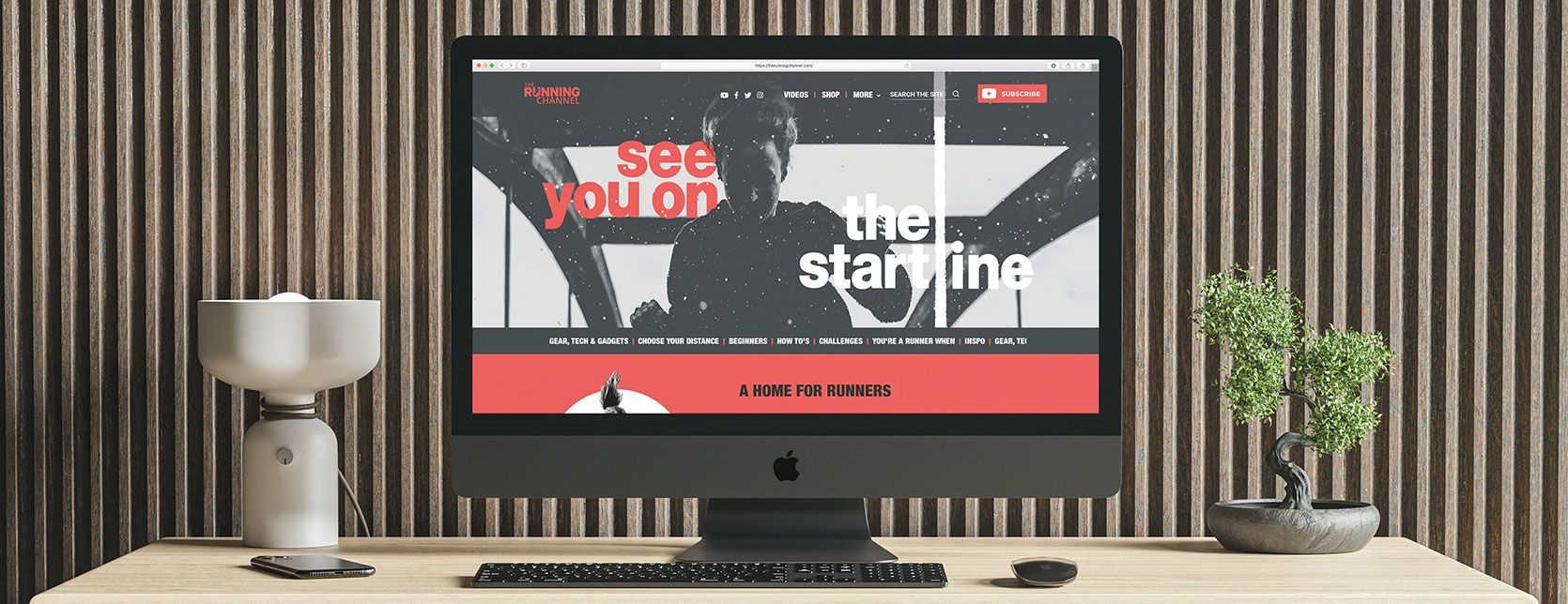 The Running Channel - Web Design Case Study